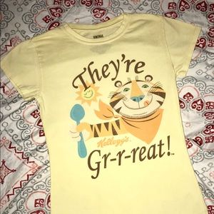 Vintage Kellogg's Tony the Tiger Shirt Flawless